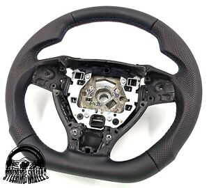 BMW 1 3 SERIES F20 F21 F30 F31 paddles Custom bottom flattened steering wheel