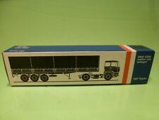 LION CAR 70 DAF TRUCKS 2800-3300 TRAILER - 1:50 GOOD * ONLY EMPTY BOX * (28)
