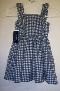 Girls Size 4 * 4T * Ralph Lauren Dress * New W Tags * Retail $49.99