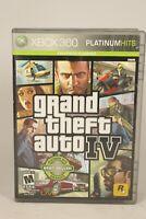 Grand Theft Auto GTA IV (Microsoft Xbox 360, 2009) Complete Platinum Hits