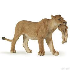 Löwe mit Jungem  14,5 cm Wildtiere Papo 50043