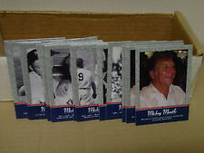 2001 UD BASEBALL PINSTRIPE EXCLUSIVE MANTLE INSERTS - 21 CARDS - SOME DUPLICATES