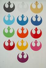 2 x Rebel Insignia Starbird Vinyl Decal Sticker Film Movie Stickers 9cm x 9cm