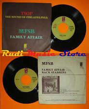 LP 45 7'' MFSB Family affair Back stabbers 1975 italy PHILADELPHIA cd mc dvd