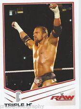 Triple H 2013 WWE Topps Triple Threat Trading Card #41 RAW HHH WWF