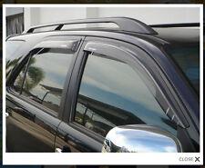 4 DOOR Visor Rain WEATHER GUARD FOR TOYOTA FORTUNER 2005-2014 SUV