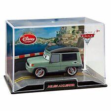 Disney Store Cars 2 Die Cast Collector Case Miles Axlerod 1:43 Scale NEW