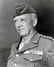 General George Patton #2 Photo 8X10 - WWII