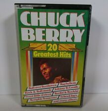 Chuck Berry Cassette 20 Greatest Hits Dutch Tape Black Tulip 48005