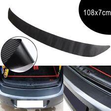 De Plaque De Voiture Bande De Protection Du Coffre Fibre De Carbone 3D