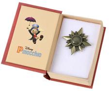 Disney Pinocchio 80th Pin Badge Japan import NEW Disney Store