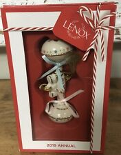 Lenox 2019 Baby's First Christmas Rattle Ornament