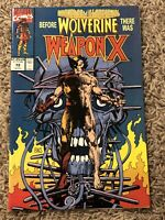 MARVEL COMICS PRESENTS #72 WEAPON X WOLVERINE STORYLINE MARVEL 1ST PRINT (NM-)
