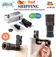 Universal HD Universal Telescope Camera Lens Zoom Clip-on For Mobile Phone PRR