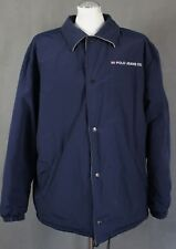 POLO by RALPH LAUREN Mens Navy & Grey Reversible COAT / JACKET - Size Large - L