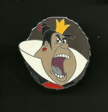 Queen of Hearts Shouting Alice in Wonderland Splendid Disney Pin
