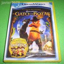 EL GATO CON BOTAS DREAMWORKS DVD NUEVO Y PRECINTADO