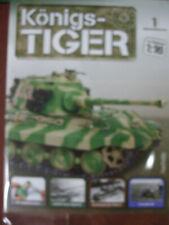 Der legendäre Königs-Tiger mit Fernsteuerung 1:16  bauen Hachette ab Nr.aussuch
