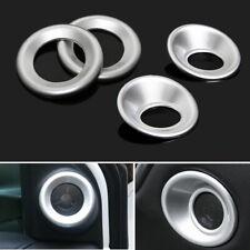 For Honda CRV 17+ ABS Chrome Matte Car Front Rear Door Stereo Speaker Cover Trim
