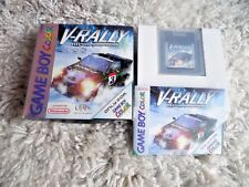 V Rally championship editi GameBoy Color complete  PAL mint collectors condition