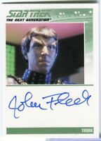 Star Trek TNG Complete Series 2 Autograph Card John Fleck as Taibak