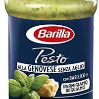 I PESTI BARILLA PESTO ALLA GENOVESE SENZA AGLIO 5VASETTi 190 GR SUGO PASTA SUGHI