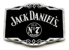 JACK Daniel' s Cintura Fibbia Old No 7 BRAND scorrere AUTHENTIC licenza ufficiale