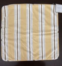 Restoration Hardware 20*20 Square Sand Point Vintage Stripe Pillow Cover NWT
