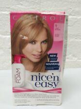 (1) Clairol Nice 'n Easy Color Blend Foam 9 Light Blonde Hair Color Dye Read