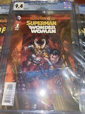 Superman/Wonder Woman: Futures End #1 DC Comics 11/14 CGC 9.6