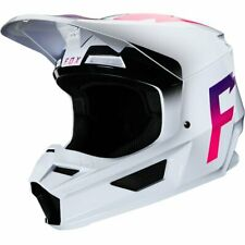 2020 Fox Racing Adult Mens V1 Werd MX Motocross Off Road Helmet White 23978