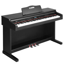 88 Key Electric Digital LCD Piano Keyboard W/sliding Cover Adapter 3pedal Board