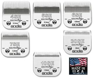 ANDIS SHOWEdge AG/BG/A5 NEW ADVANCED Blade*Fit Most Oster,Wahl,Laube Clippers