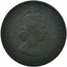 COIN /1954 Bailiwick of Jersey 1/12th Of A Shilling COIN  ELIZABETH II  #WT29922