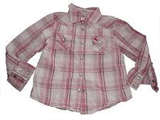 H & M süße Bluse Gr. 104 rosa kariert !!
