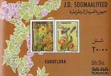 Somalië Blok 20 (compleet.Kwestie.) postfris MNH 1986 Bloemenshow