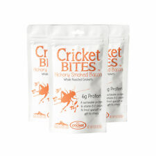 Hickory Bacon Roasted Crickets - 6g Edible Insects Protein - Made in Oregon