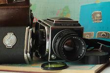 Salute-C Medium Format 6x6 Camera With lens Vega-12B Lens Excellent Condition И1