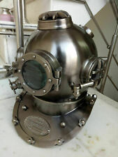 Vintage Boston Antique Divers Diving Helmet ~ Us Navy Mark V Sea Scuba Morse