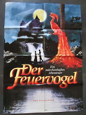 DER FEUERVOGEL - Filmplakat A1 - Tina Ruland, Horst Buchholz