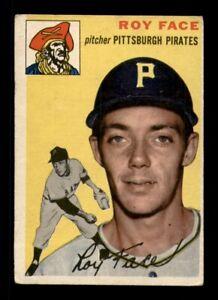1954 Topps Set Break #87 Roy Face VG *OBGcards*