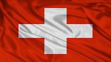 Switzerland National Flag 5x3ft