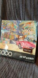 ■RARE VINTAGE SEALED■ Gremlins: Go Go Gizmo 1000pcs Springbok Jigsaw Puzzle 1984