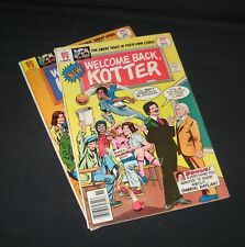 Welcome Back, Kotter bronze age comic lot of 2, 1976 #1 & 1977 #2, Sweet Hogs