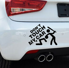 Car-styling Auto Funny Don't Touch My Car Sticker Decal Decoration Accessory BLK
