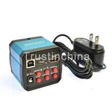 14MP TV USB Industry Digital C-mount Microscope Camera TF Video Recoder t