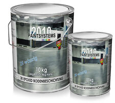 2K EPOXID Bodenbeschichtung SET 10Kg - 6kg Basis + 4kg Härter