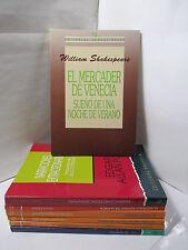 EL MERCADER DE VENECIA- SUENO DE UNA NOCHE WILLIAM SHAKESPEARE Spanish Espanol