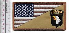 US Army Afghanistan 101st Airmobile Infantru Division Class - A Shoulder Patch
