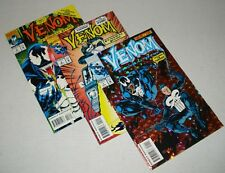 Venom Funeral Pyre 1-3 Complete 1993 Mini-Series Marvel Comics